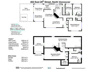 Photo 19: 402 E 29TH Street in North Vancouver: Upper Lonsdale House for sale : MLS®# V1102842