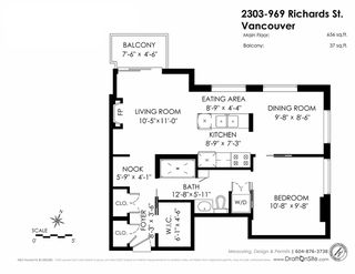 "Photo 20: 2303 969 RICHARDS Street in Vancouver: Downtown VW Condo for sale in ""Mondrian"" (Vancouver West)  : MLS®# R2067728"