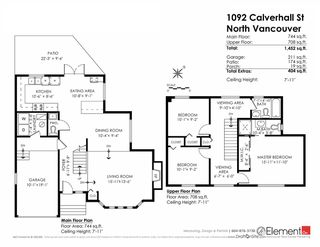 Photo 20: 1092 CALVERHALL Street in North Vancouver: Calverhall House for sale : MLS®# R2090182