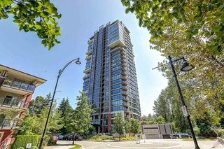 "Photo 1: 604 301 CAPILANO Road in Port Moody: Port Moody Centre Condo for sale in ""RESIDENCES AT SUTER BROOK"" : MLS®# R2094618"