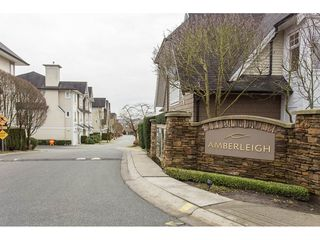 "Photo 1: 40 20560 66 Avenue in Langley: Willoughby Heights Townhouse for sale in ""AMBERLEIGH II"" : MLS®# R2134449"