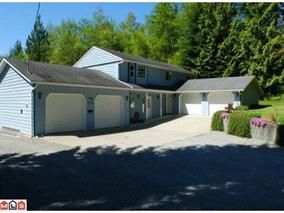 "Main Photo: 29710 DEWDNEY TRUNK Road in Mission: Stave Falls House for sale in ""STAVE FALLS/MR BORDER"" : MLS®# R2137412"