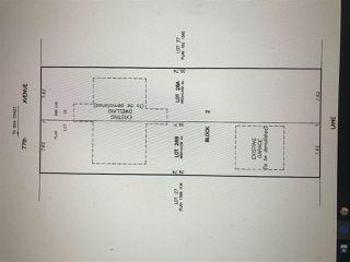 Main Photo: 8731 77 Avenue in Edmonton: Zone 17 Vacant Lot for sale : MLS®# E4099631