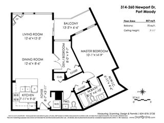 Photo 9: 314 260 NEWPORT Drive in Port Moody: North Shore Pt Moody Condo for sale : MLS®# R2309943