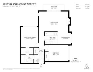 """Photo 17: 102 230 MOWAT Street in New Westminster: Uptown NW Condo for sale in """"HILLPOINTE"""" : MLS®# R2312325"""