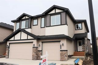 Main Photo: 8538 CUSHING Place in Edmonton: Zone 55 House Half Duplex for sale : MLS®# E4135825