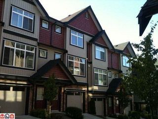"""Photo 1: 22 6299 144 Street in Surrey: Sullivan Station Townhouse for sale in """"ALTURA"""" : MLS®# R2349037"""