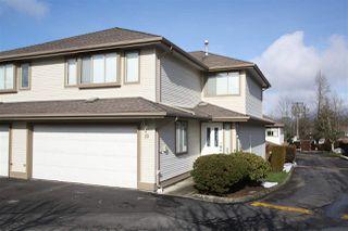 "Main Photo: 10 22280 124 Avenue in Maple Ridge: West Central Townhouse for sale in ""HILLSIDE TERRACE"" : MLS®# R2365767"
