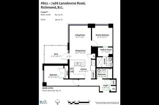 """Photo 20: 802 7488 LANSDOWNE Road in Richmond: Brighouse Condo for sale in """"Cadence"""" : MLS®# R2373863"""