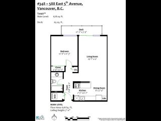 Photo 20: 348 588 E 5TH Avenue in Vancouver: Mount Pleasant VE Condo for sale (Vancouver East)  : MLS®# R2446675