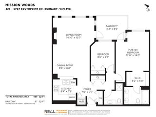 """Photo 31: 423 6707 SOUTHPOINT Drive in Burnaby: South Slope Condo for sale in """"MISSION WOODS"""" (Burnaby South)  : MLS®# R2470852"""