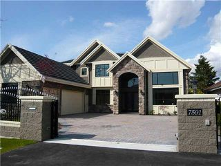 Photo 1: 7591 BROADMOOR Boulevard in Richmond: Broadmoor House for sale : MLS®# V883219
