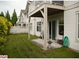 "Photo 9: 14 20751 87TH Avenue in Langley: Walnut Grove Townhouse for sale in ""Summerfield"" : MLS®# F1113182"
