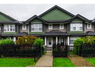 "Photo 1: 16 18199 70TH Avenue in Surrey: Cloverdale BC Townhouse for sale in ""Augusta"" (Cloverdale)  : MLS®# F1424865"