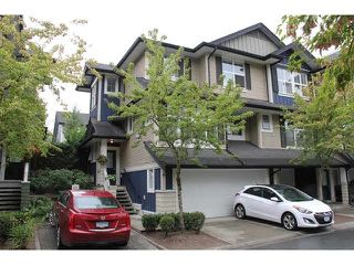 "Photo 1: 42 18199 70 Avenue in Surrey: Cloverdale BC Townhouse for sale in ""Augusta"" (Cloverdale)  : MLS®# F1449149"