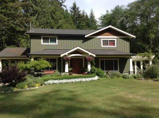 Main Photo: 5760 MASON Road in Sechelt: Sechelt District House for sale (Sunshine Coast)  : MLS®# R2090042