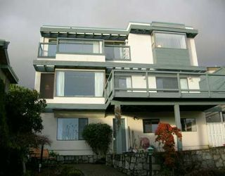Main Photo: 2150 OTTAWA Ave in West Vancouver: Dundarave House for sale : MLS®# V621756