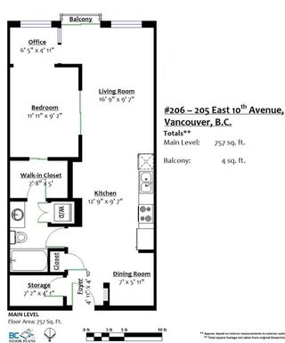 Photo 20: 206 205 E 10TH AVENUE in Vancouver: Mount Pleasant VE Condo for sale (Vancouver East)  : MLS®# R2169420