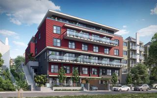 "Photo 3: 309 218 CARNARVON Street in New Westminster: Downtown NW Townhouse for sale in ""IRVING LIVING"" : MLS®# R2208756"