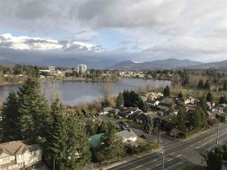 """Photo 1: 1105 2180 GLADWIN Road in Abbotsford: Central Abbotsford Condo for sale in """"Mahogany at Mill Lake"""" : MLS®# R2335413"""