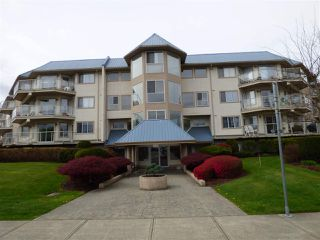 "Photo 1: 211 7685 AMBER Drive in Sardis: Sardis West Vedder Rd Condo for sale in ""The Sapphire"" : MLS®# R2360800"