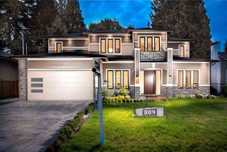 Photo 20: 809 CRESTWOOD Drive in Coquitlam: Harbour Place House for sale : MLS®# R2376330