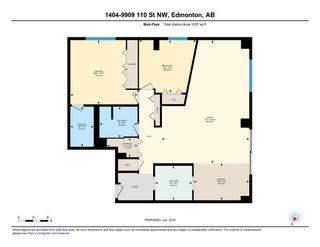 Photo 30: 1404 9909 110 Street in Edmonton: Zone 12 Condo for sale : MLS®# E4169596