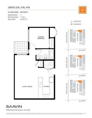 "Photo 4: 413 6968 ROYAL OAK Avenue in Burnaby: Metrotown Condo for sale in ""SAAVIN"" (Burnaby South)  : MLS®# R2460096"