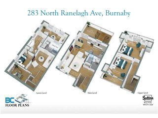 Photo 5: 283 N RANELAGH Avenue in Burnaby: Capitol Hill BN House for sale (Burnaby North)  : MLS®# V881472