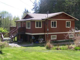 Photo 1: 2703 ROBINSON RD: Roberts Creek House for sale (Sunshine Coast)  : MLS®# V887356