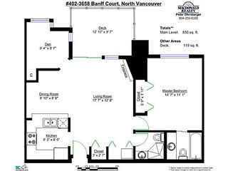 """Photo 15: 402 3658 BANFF Court in North Vancouver: Northlands Condo for sale in """"The Classics"""" : MLS®# V1028992"""