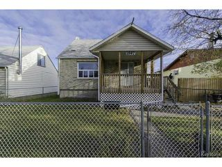 Photo 1: 1587 Manitoba Avenue in WINNIPEG: North End Residential for sale (North West Winnipeg)  : MLS®# 1323768