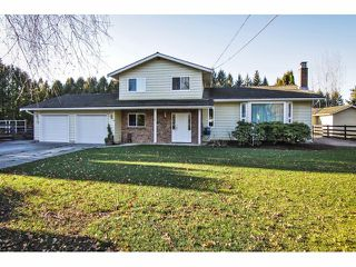 "Photo 1: 24697 48B Avenue in Langley: Salmon River House for sale in ""STRAWBERRY HILLS"" : MLS®# F1326525"
