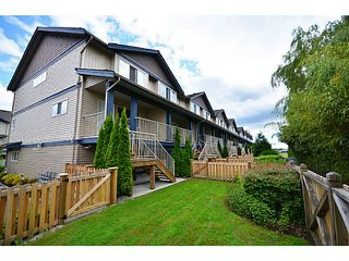 """Photo 20: 29 1268 RIVERSIDE Drive in Port Coquitlam: Riverwood Townhouse for sale in """"SOMERSTON LANE"""" : MLS®# V1062808"""