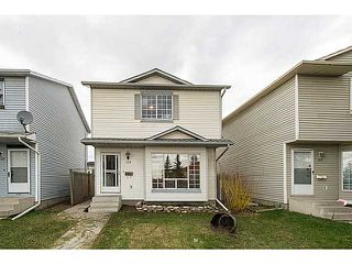 Photo 1: 138 MARTINDALE Boulevard NE in CALGARY: Martindale Residential Detached Single Family for sale (Calgary)  : MLS®# C3615933