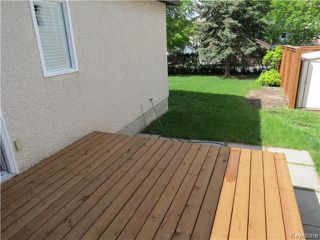 Photo 15: 34 Kinsbourne Green in WINNIPEG: St Vital Residential for sale (South East Winnipeg)  : MLS®# 1413509