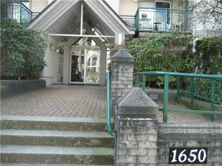 "Main Photo: 103 1650 GRANT Avenue in Port Coquitlam: Glenwood PQ Condo for sale in ""FOREST SIDE"" : MLS®# V1090424"