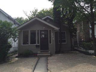 Main Photo: 292 Hampton Street in WINNIPEG: St James Residential for sale (West Winnipeg)  : MLS®# 1519459