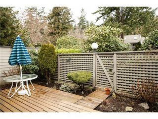 Photo 13: 6 4957 MARINE Drive in West Vancouver: Home for sale : MLS®# V1044022