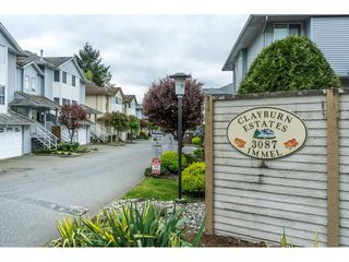 "Photo 2: 19 3087 IMMEL Street in Abbotsford: Central Abbotsford Townhouse for sale in ""Clayburn Estates"" : MLS®# R2264675"