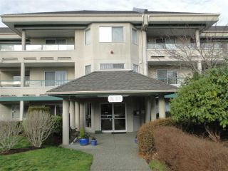 """Photo 1: 337 2451 GLADWIN Road in Abbotsford: Abbotsford West Condo for sale in """"Centennial Court"""" : MLS®# R2329915"""