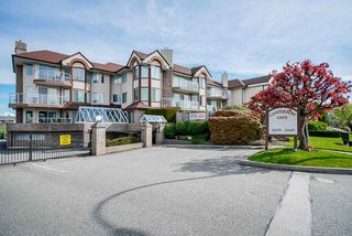 "Main Photo: 105 32669 GEORGE FERGUSON Way in Abbotsford: Abbotsford West Condo for sale in ""Canterbury Gate"" : MLS®# R2453437"