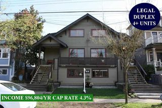 Photo 1: 2128 E PENDER Street in Vancouver: Hastings House for sale (Vancouver East)  : MLS®# R2471140