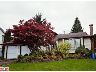 "Photo 1: 8720 151 Street in Surrey: Bear Creek Green Timbers House for sale in ""Fleetwood"" : MLS®# F1125086"
