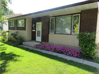 Photo 1: 176 Risbey Crescent in WINNIPEG: Westwood / Crestview Residential for sale (West Winnipeg)  : MLS®# 1323461