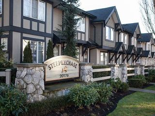 "Photo 1: 44 20176 68TH Avenue in Langley: Willoughby Heights Townhouse for sale in ""Steeple Chase"" : MLS®# F1401877"