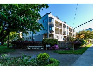 "Photo 1: 208 737 HAMILTON Street in New Westminster: Uptown NW Condo for sale in ""THE COURTYARD"" : MLS®# R2060050"