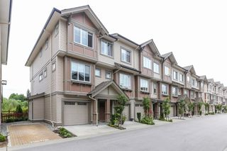 "Main Photo: 122 10151 240 Street in Maple Ridge: Albion Townhouse for sale in ""ALBION STATION"" : MLS®# R2372175"