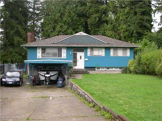Main Photo: 2221 TOLMIE Avenue in Coquitlam: Central Coquitlam House for sale : MLS®# V1029046