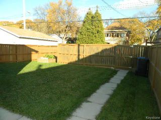 Photo 12: 653 Denson Place in WINNIPEG: West End / Wolseley Residential for sale (West Winnipeg)  : MLS®# 1323286